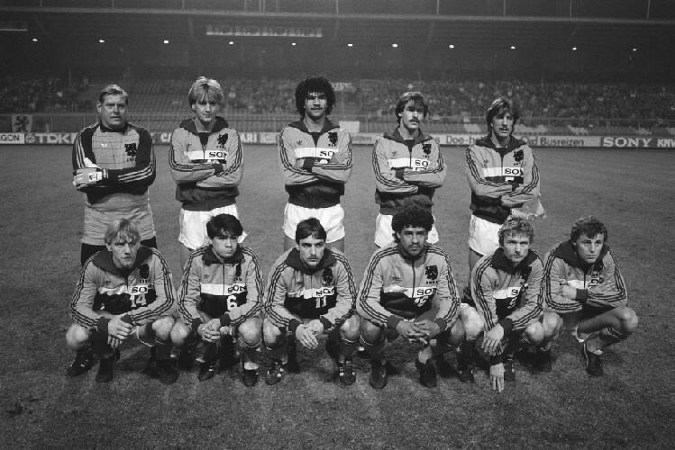 Nederland tegen Denemarken (voetbal); het Nederlands elftal