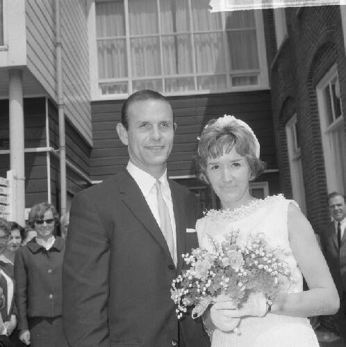 Huwelijk Elles Berger en Barry Hughes te Hilversum