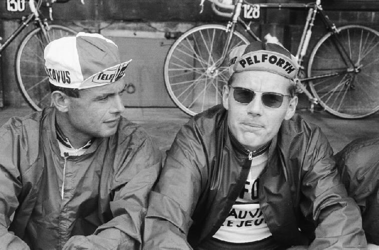 Tour de France, Cees Haast (Televizier) en Jan Janssen (Pelforth)